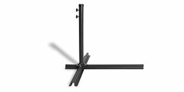 909 OUTDOOR Grüner Ampelschirm für Terrasse, Balkon und Garten Ø 300 cm, Verstellbarer Sonnenschirm mit Fußkreuz und Kurbel, Gartenschirm aus Polyester & Stahl - 4