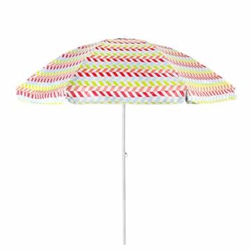 Aktive 62113 Strandschirm 200 cm mit UV-Schutz 50+ Beach - 3