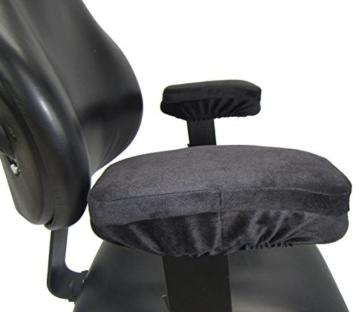 Arm-Eaz Armlehnen Polster fur Burostuhl und Spielstuhl, Memory-Schaum Arbeitsplatz Schreibtischstuhl Armlehnen Kissen fur Ellenbogen Komfort - 4