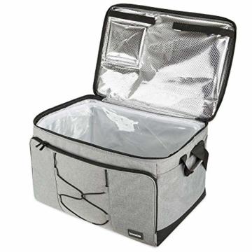 bomoe 52 Liter XXL Kühltasche groß faltbar IceBreezer KT53 - Outdoor Kühlbox Isoliertasche für unterwegs - 53x37x32 cm - Auch als Picknicktasche Thermotasche nutzbar – Perfekter Lebensmitteltransport - 9