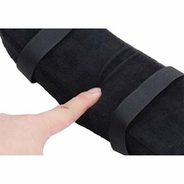 Botreelife 1 Stk. Stuhl Armpolster Memory Foam Computer Stuhl Armlehne Pedalabdeckung Geeignet zur Beruhigung von Ellbogen und Unterarmen Druckentlastung - 2