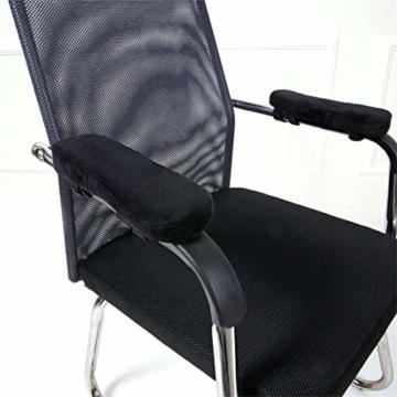 CAIRLEE Stuhl Armpolster Single Memory Foam Ellbogen Stuhl Armpolster Für Gaming Stuhl Bürostuhl - 3