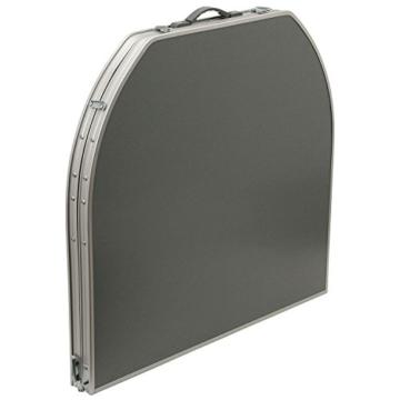 CampFeuer - Aluminium Klapptisch, Campingtisch, Falttisch, ca. 150 x 80 x 55/65/70 cm - 3