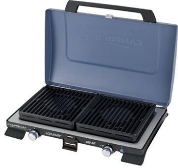 Campingaz 400 SG Campingkoche, Kompakter Outdoor Kocher Mit Windschutz, blau, S - 8
