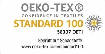 Delindo Lifestyle® Frottee Strandtuch Tropical Anker BLAU XXL, 100% Baumwolle, Strandlaken ist 180x200 cm groß - 3