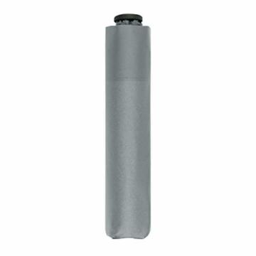 doppler Taschenschirm Zero,99 – Gewicht von nur 99 Gramm – Stabil – Windproof – 21 cm – Cool Grey - 1