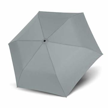 doppler Taschenschirm Zero,99 – Gewicht von nur 99 Gramm – Stabil – Windproof – 21 cm – Cool Grey - 5