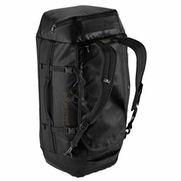 Eagle Creek Cargo Hauler - superleichte Reisetasche mit 60 L Volumen I Robuster Rucksack für Camping und Outdoor I abrieb- & wasserbeständiges Gewebe, Jet Black - 2