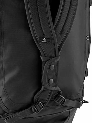 Eagle Creek Cargo Hauler - superleichte Reisetasche mit 60 L Volumen I Robuster Rucksack für Camping und Outdoor I abrieb- & wasserbeständiges Gewebe, Jet Black - 11