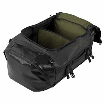 Eagle Creek Cargo Hauler - superleichte Reisetasche mit 60 L Volumen I Robuster Rucksack für Camping und Outdoor I abrieb- & wasserbeständiges Gewebe, Jet Black - 3