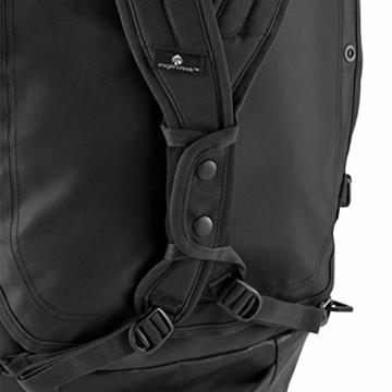 Eagle Creek Cargo Hauler - superleichte Reisetasche mit 60 L Volumen I Robuster Rucksack für Camping und Outdoor I abrieb- & wasserbeständiges Gewebe, Jet Black - 4