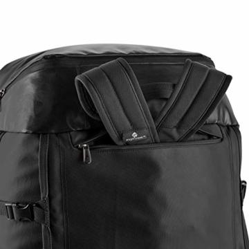 Eagle Creek Cargo Hauler - superleichte Reisetasche mit 60 L Volumen I Robuster Rucksack für Camping und Outdoor I abrieb- & wasserbeständiges Gewebe, Jet Black - 7