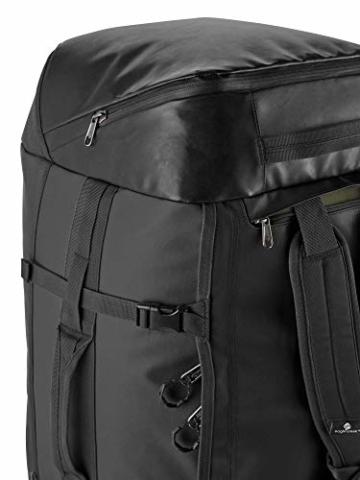 Eagle Creek Cargo Hauler - superleichte Reisetasche mit 60 L Volumen I Robuster Rucksack für Camping und Outdoor I abrieb- & wasserbeständiges Gewebe, Jet Black - 8