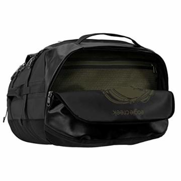 Eagle Creek Cargo Hauler - superleichte Reisetasche mit 60 L Volumen I Robuster Rucksack für Camping und Outdoor I abrieb- & wasserbeständiges Gewebe, Jet Black - 10