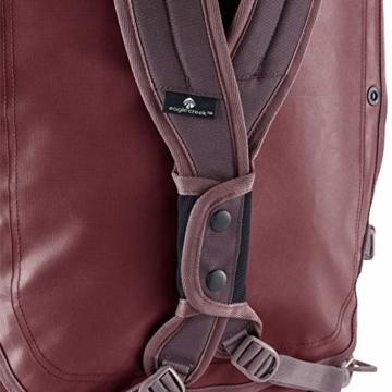 Eagle Creek Cargo Hauler - superleichte Reisetasche mit Rollen und Rucksacktragegurten mit 110 L Volumen I passend für Reisen von 1-2 Wochen I abrieb- & wasserbeständiges Gewebe, Earth Red - 2