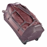 Eagle Creek Cargo Hauler - superleichte Reisetasche mit Rollen und Rucksacktragegurten mit 110 L Volumen I passend für Reisen von 1-2 Wochen I abrieb- & wasserbeständiges Gewebe, Earth Red - 1