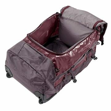 Eagle Creek Cargo Hauler - superleichte Reisetasche mit Rollen und Rucksacktragegurten mit 110 L Volumen I passend für Reisen von 1-2 Wochen I abrieb- & wasserbeständiges Gewebe, Earth Red - 4