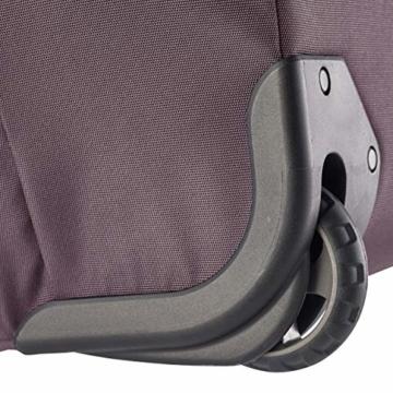 Eagle Creek Cargo Hauler - superleichte Reisetasche mit Rollen und Rucksacktragegurten mit 110 L Volumen I passend für Reisen von 1-2 Wochen I abrieb- & wasserbeständiges Gewebe, Earth Red - 6