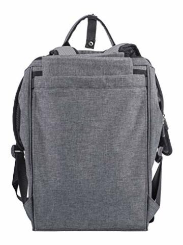 Eono by Amazon - 2 Personen Picknickrucksack Kühltasche mit Geschirrset & Decke - 2