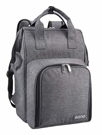 Eono by Amazon - 2 Personen Picknickrucksack Kühltasche mit Geschirrset & Decke - 4