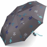 Esprit Taschenschirm Easymatic Light Flower Rain - Excalibur - 1