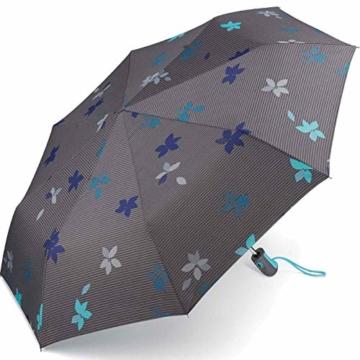 Esprit Taschenschirm Easymatic Light Flower Rain - Excalibur - 1