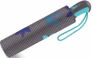 Esprit Taschenschirm Easymatic Light Flower Rain - Excalibur - 2