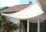 Floracord Sonnensegel Bausatz Universal 330x200 mit Sonnnensegel 330 x 200 cm uni hell elfenbein, beige - 1