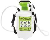 Freshower 7 8311.S00 Tragbare Dusche, Kunststoff, 19 x 19 x 41cm, transparent/Grün/Schwarz - 1