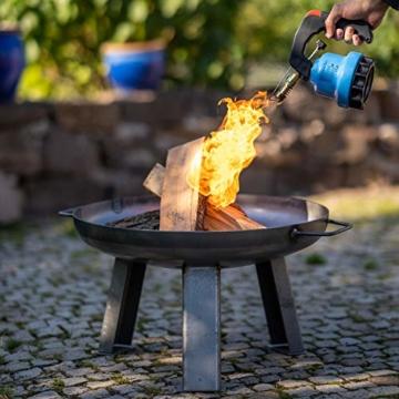 FUMOSA Stechkartuschen Set für Campingkocher, Lampen und Lötbrenner, 190g - 4 Kartuschen - 6