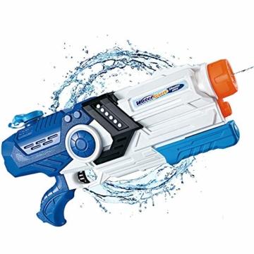 Gimsan Wasserpistole Spielzeug, 2000ML Spritzpistolen für Kinder Erwachsene Groß Wasserspritzpistolen 8-10 Metern Langer Reichweiter - 1