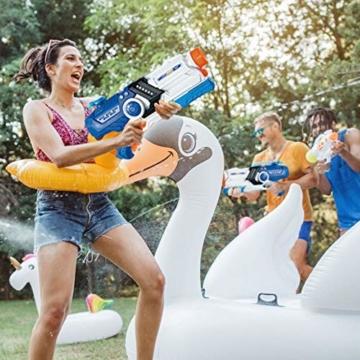 Gimsan Wasserpistole Spielzeug, 2000ML Spritzpistolen für Kinder Erwachsene Groß Wasserspritzpistolen 8-10 Metern Langer Reichweiter - 6