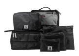 HAUPTSTADTKOFFER - Packhilfe – Koffer Reise-Organizer Set 6-teilig, mobiler Kleiderschrank + multifunktionale Packtasche (M), Kosmetiktasche, 3 kleine Utensilien-Taschen - 1