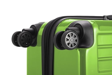 HAUPTSTADTKOFFER - X-Berg - Handgepäck Hartschalenkoffer Koffer Trolley, 55 cm, 42 Liter, TSA, Apfelgrün - 2