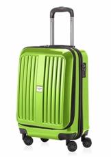 HAUPTSTADTKOFFER - X-Berg - Handgepäck Hartschalenkoffer Koffer Trolley, 55 cm, 42 Liter, TSA, Apfelgrün - 1