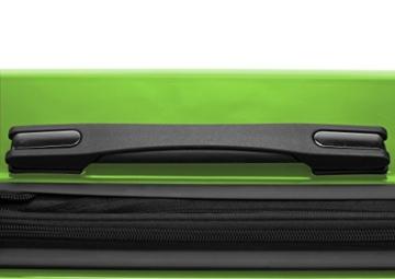 HAUPTSTADTKOFFER - X-Berg - Handgepäck Hartschalenkoffer Koffer Trolley, 55 cm, 42 Liter, TSA, Apfelgrün - 4