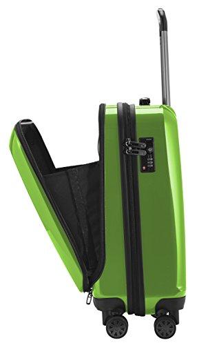 HAUPTSTADTKOFFER - X-Berg - Handgepäck Hartschalenkoffer Koffer Trolley, 55 cm, 42 Liter, TSA, Apfelgrün - 5