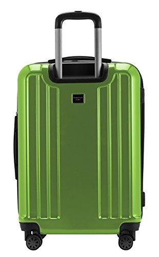 HAUPTSTADTKOFFER - X-Berg - Handgepäck Hartschalenkoffer Koffer Trolley, 55 cm, 42 Liter, TSA, Apfelgrün - 6