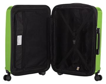 HAUPTSTADTKOFFER - X-Berg - Handgepäck Hartschalenkoffer Koffer Trolley, 55 cm, 42 Liter, TSA, Apfelgrün - 7