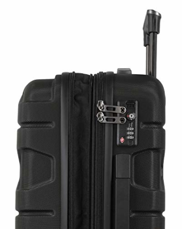 HAUPTSTADTKOFFER - X-Kölln - Handgepäck Trolley, Bordgepäck, Koffer, Volumenerweiterung, TSA, 4 gummierte Doppelrollen, 55 cm, 50 L, Schwarz matt - 2