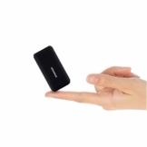 Heganus Powerbank 10000mAh, Mini Kompakte Externer Akku, Kleine und Leichter Power Bank mit Micro+USB C, Handy Ladegerät Leicht Compact Externer Batterie für iPhone,Samsung,Huawei,iPad (Schwarz) - 1