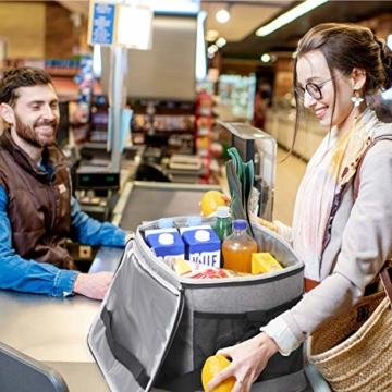 Lifewit 30L Kühltasche Picknicktasche Lunchtasche Mittagessen Tasche Thermotasche Isoliertasche für Lebensmitteltransport - 3