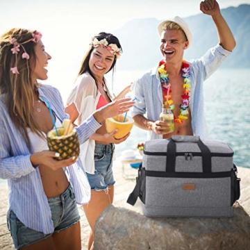 Lifewit 30L Kühltasche Picknicktasche Lunchtasche Mittagessen Tasche Thermotasche Isoliertasche für Lebensmitteltransport - 4