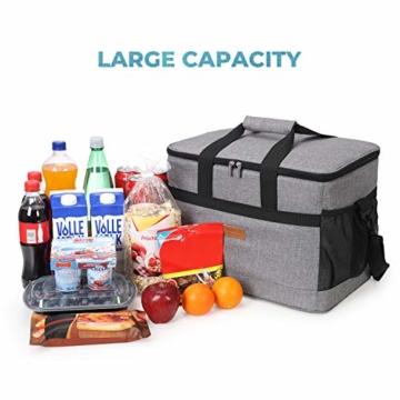 Lifewit 30L Kühltasche Picknicktasche Lunchtasche Mittagessen Tasche Thermotasche Isoliertasche für Lebensmitteltransport - 5