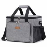Lifewit Kühltasche Gross Thermotasche Cooler Bag Einkaufstasche Kühlbox Thermo Tasche Lunchtasche Picknicktasche isoliert faltbar für Lebensmitteltransport,25L - 1