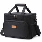 Lifewit Kühltasche Klein 10L Lunchtasche Picknicktasche Mittagessen Tasche Thermotasche Kühltasche Isoliertasche für Lebensmitteltransport - 1