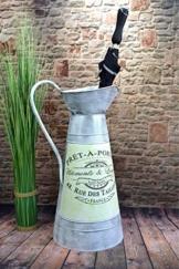 Livitat® Regenschirmständer 58 x 28 cm Schirmständer Landhaus Vintage Blech Metall LV5096 - 1