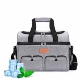 NASUM Kühltasche, Lebensmitteltasche, tragbare Kühltasche für Picknick, Outdoor-Aktivitäten, Grill/Camping/Sport/Reisen (23 l) - 1