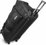normani XXL Reisetasche Jumbo Big-Travel mit Rollen Farbe Schwarz / 120 Liter - 1