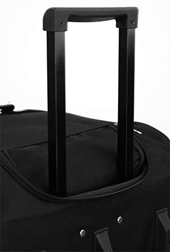 normani XXL Reisetasche mit Trolleyfunktion - 80, 100, 120 oder 150 Liter - mit 3 Rollen und 3 Verstärkungsstreben Größe 80 Liter - 4